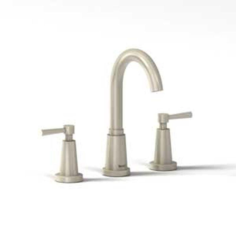 "Riobel Pallace Collection PA08LBN 8"" Bath Faucet Brushed Nickel"