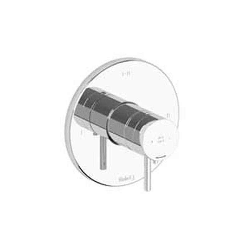 Riobel Pallace Collection PATM23PN 2-Way Thermostatic/Pressure Balance Coaxial Complete Valve Polished Nickel