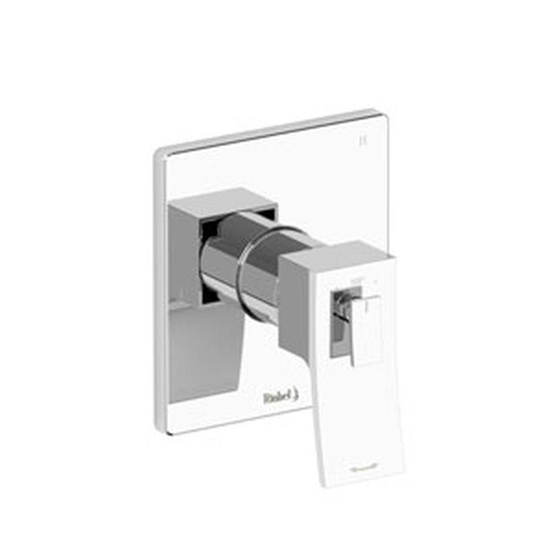 Riobel Zendo Collection TZOTQ45BN 3-Way Thermostatic/Pressure Balance Coaxial Valve Trim Brushed Nickel