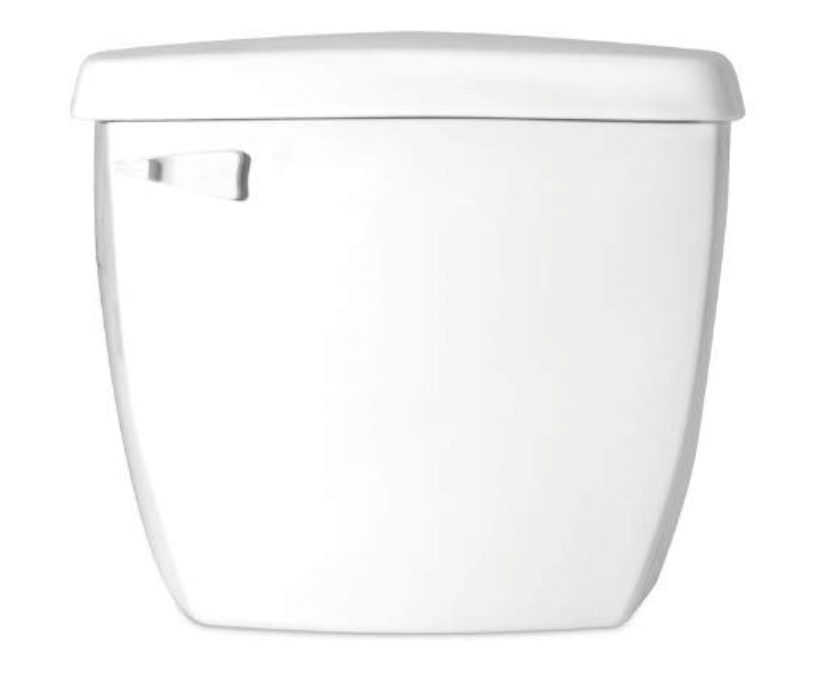 Saniflo 005 Toilet Tank Insulated Tank w/ Fill And Flush Valves White