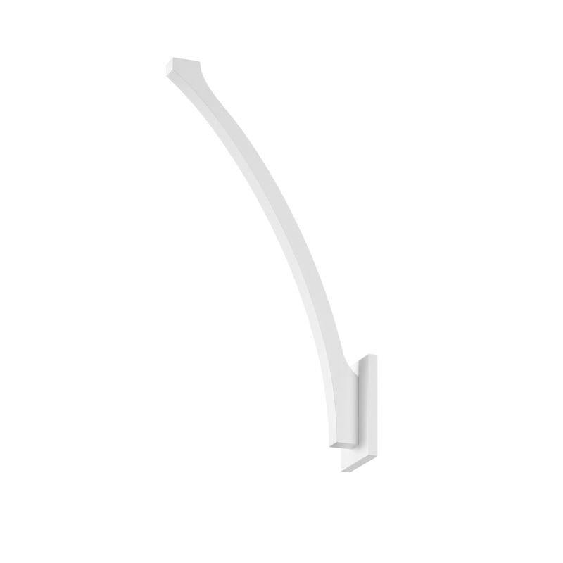 Sonneman 1715.98 Profili Sweep LED Sconce Textured White
