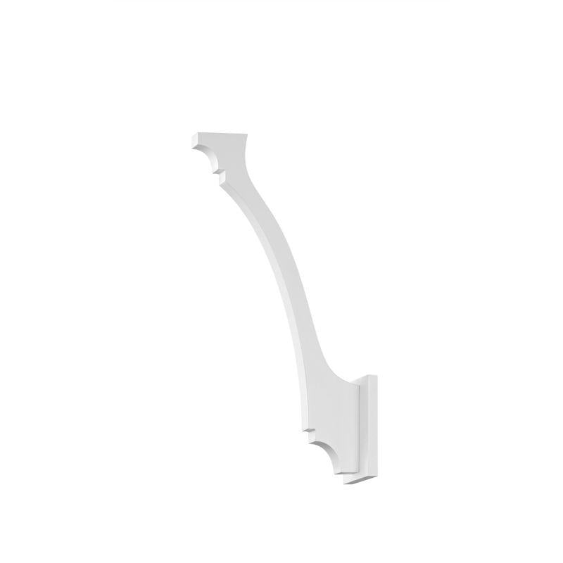 Sonneman 1717.98 Profili Ogee LED Sconce Textured White