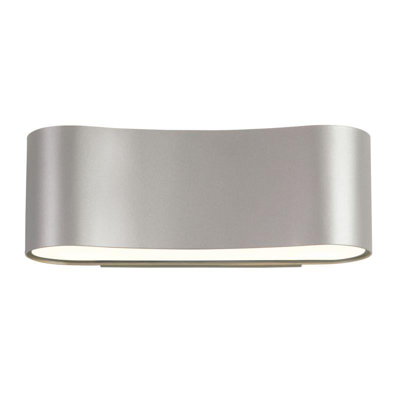 Sonneman 1725.16 Corso LED Sconce Bright Satin Aluminum