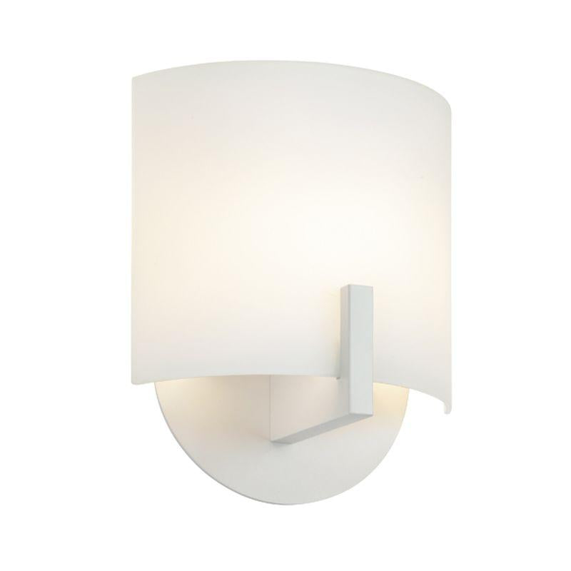 Sonneman 1727.16 Scudo LED LED Sconce Bright Satin Aluminum