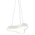 Sonneman 1730.98 Corso Rhythm LED Pendant Textured White