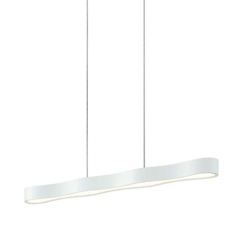 "Sonneman 1734.98 Corso Linear 34"" LED Pendant Textured White"
