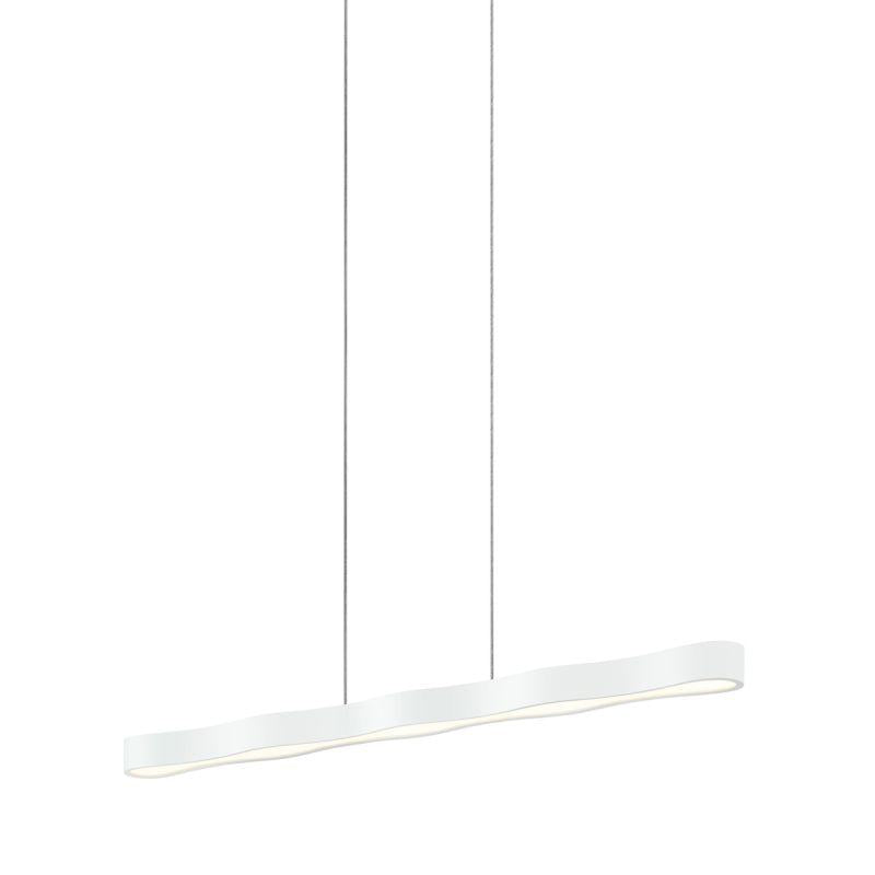 "Sonneman 1735.98 Corso Linear 44"" LED Pendant Textured White"