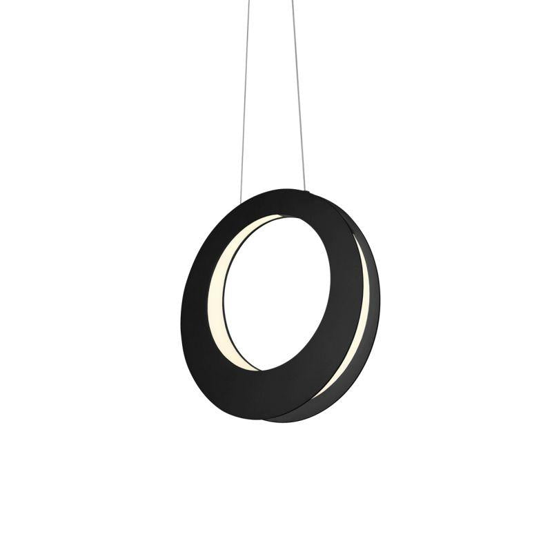 "Sonneman 1754.25 Haro 16"" LED Pendant Satin Black"