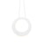 "Sonneman 1754.98 Haro 16"" LED Pendant Textured White"