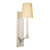 Sonneman 1825.13W Curva Sconce Satin Nickel