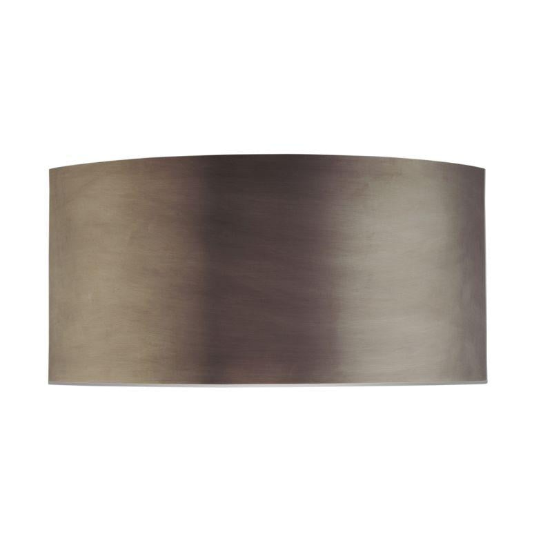 Sonneman 1880.24 Dianelli Shield Sconce Rubbed Bronze