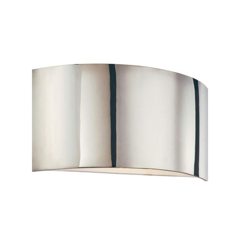 Sonneman 1880.35 Dianelli Shield Sconce Polished Nickel
