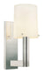 Sonneman 1912.35 Calmo-Retta Sconce Polished Nickel