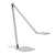 Sonneman 2050.16 Quattro LED Task Lamp Bright Satin Aluminum