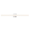 "Sonneman 2423.01 SQ-bar 40"" LED Bath Bar Polished Chrome"