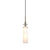 Sonneman 3030.13 Candle 1-Light Pendant Satin Nickel
