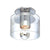 Sonneman 4800.01 Transparence Surface Mount Polished Chrome