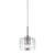 Sonneman 4802.01 Transparence 1-Light Pendant Polished Chrome
