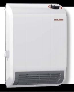 Stiebel Eltron 236304 CK Trend Wall-Mounted Electric Fan Heater, 1500W, 120V