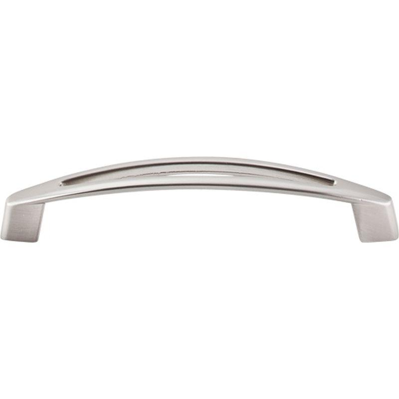 "Top Knobs M389 Nouveau Verona Pull 5 1/16"" (c-c) - Brushed Satin Nickel"