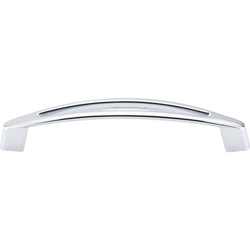 "Top Knobs M390 Nouveau Verona Pull 5 1/16"" (c-c) - Polished Chrome"