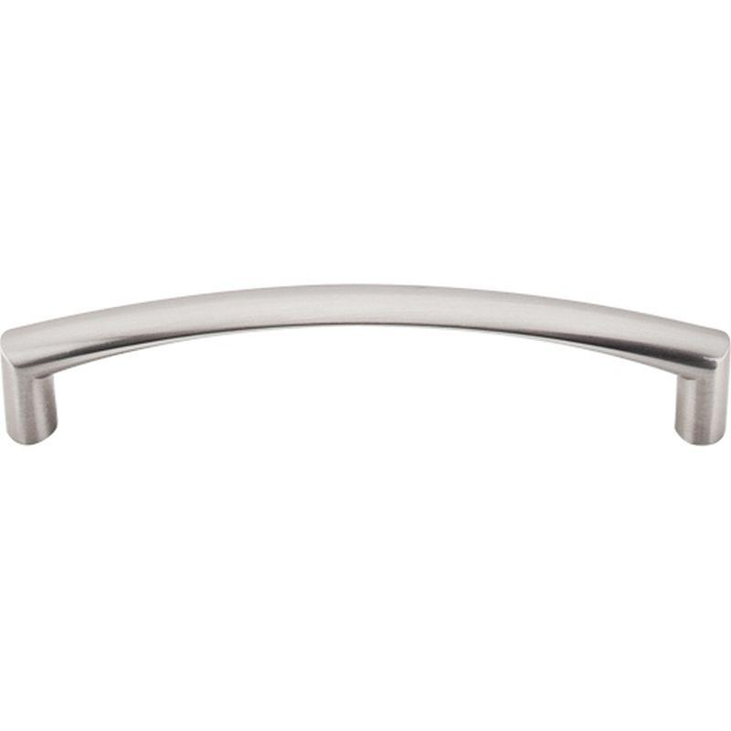 "Top Knobs M391 Nouveau Griggs Pull 5 1/16"" (c-c) - Brushed Satin Nickel"