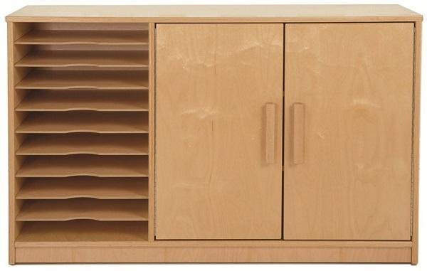 Whitney Plus CH0500 Art Paper Cabinet Natural UV