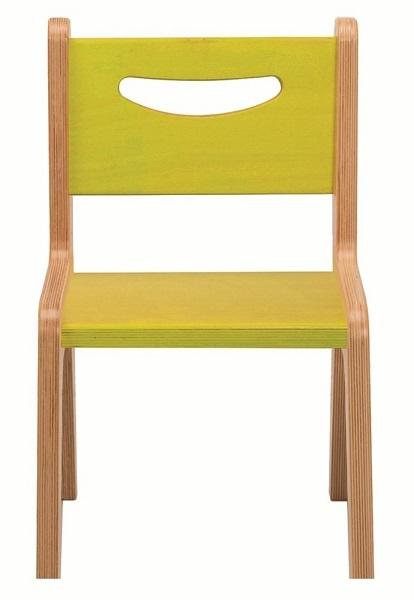 Whitney Plus CR2510G Electric Lime Chair Green / Natural UV
