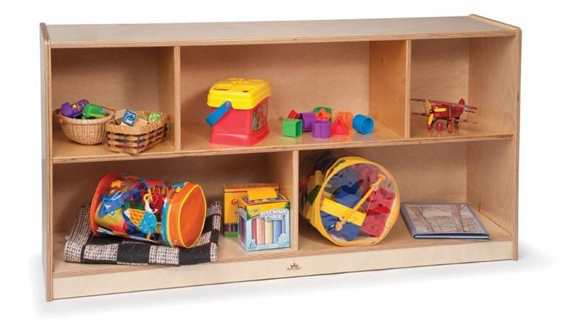 Whitney Brothers WB0553 Toddler 24-inch Basic Single Storage Natural UV