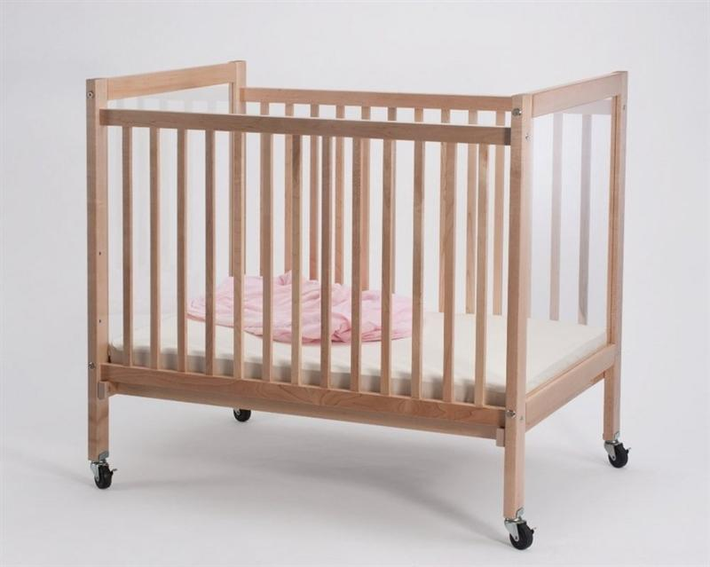Whitney Brothers WB9503 Infant Clear View Crib Natural UV