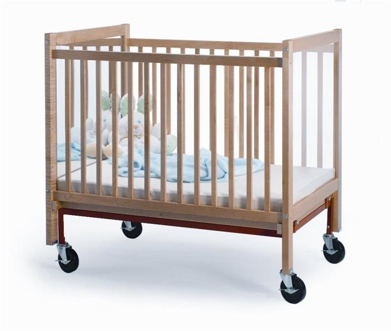 Whitney Brothers WB9504 I See Me Infant Crib Natural UV