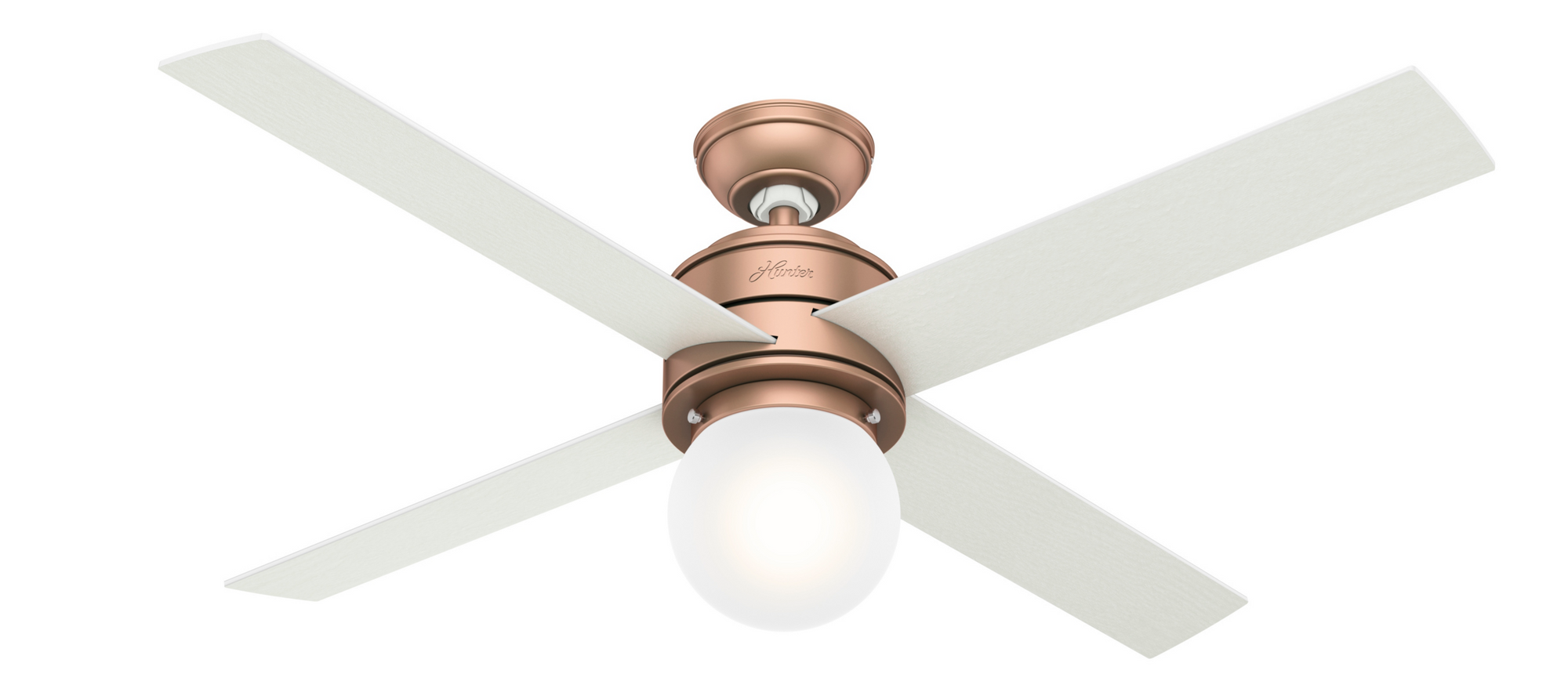 Hunter Indoor Hepburn Ceiling Fan with LED LightJD inch, Bronze/Brown, 59330