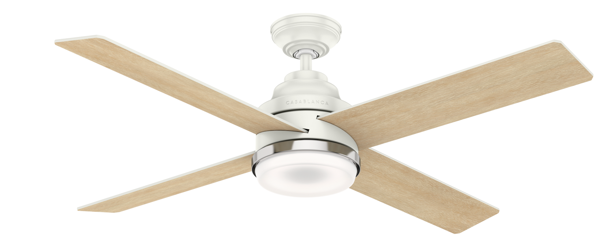 Casablanca Indoor Daphne Ceiling Fan with LED LightJD inch, White, 59413