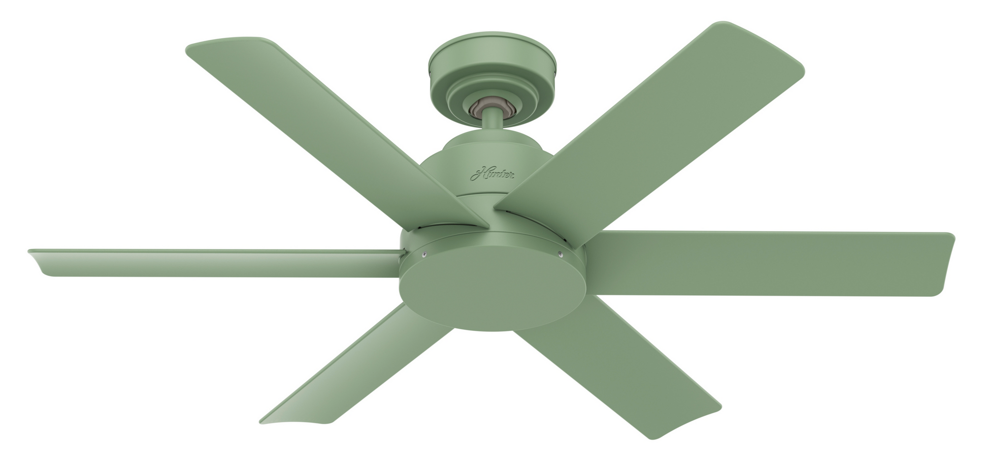 Hunter Indoor/Outdoor Kennicott Ceiling Fan without LightJD inch, Green, 59612