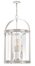 Quoizel BTE5204PK Baltimore Foyer Piece Foyer 4 Light Polished Nickel