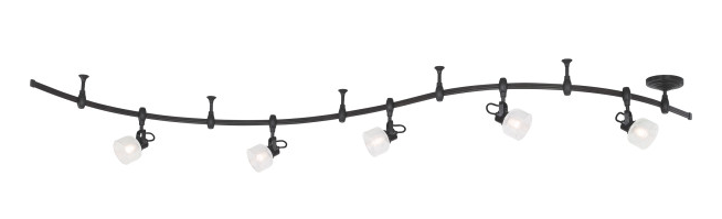 Quoizel OVA1405WT Ovation Track Light Track Light Led Western Bronze