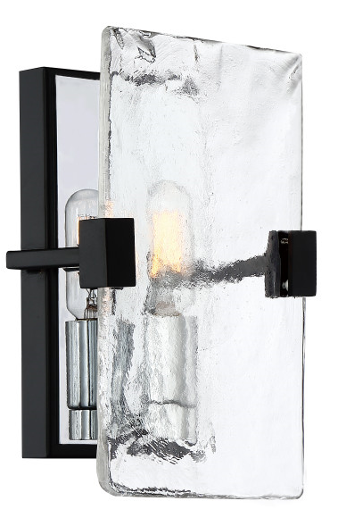 Quoizel QW4068EK Herriman Wall Sconce Wall 1 Light Earth Black
