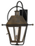 Quoizel RO8418IZ Rue De Royal Outdoor Lantern Outdoor Wall 1 Light Industrial Bronze