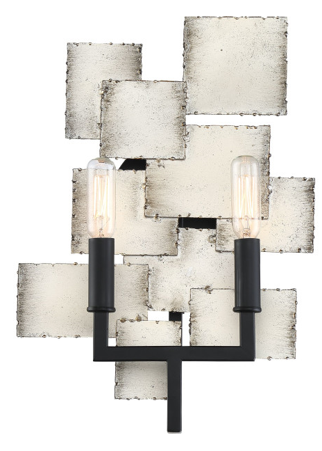 Quoizel TCE8702OS Torrance Wall Sconce Wall 2 Light Old Silver