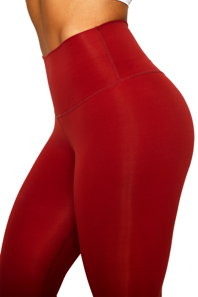 Signature Leggings Wine Red