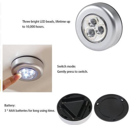 Touch Bright LED