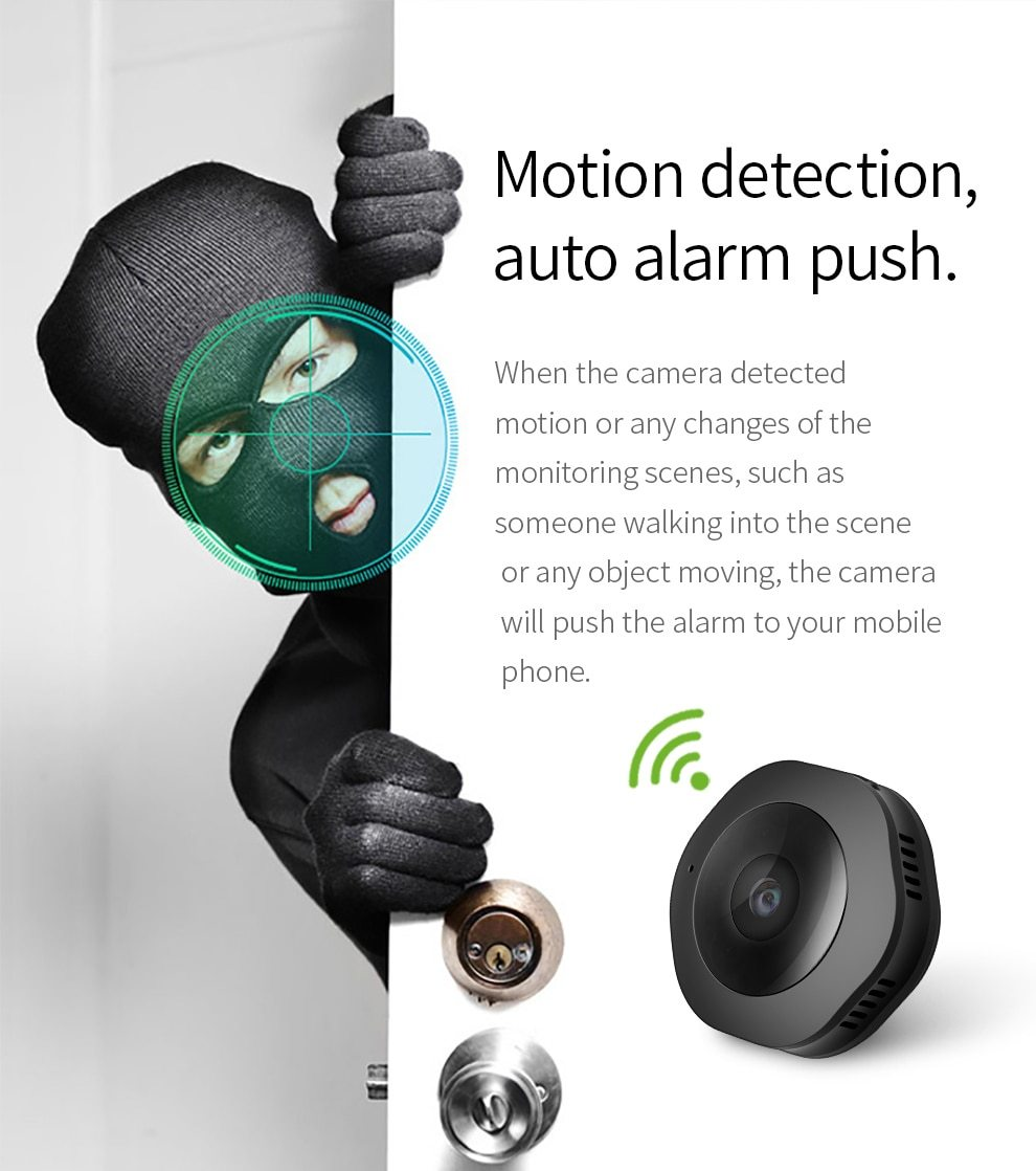 Smart Mini WiFi Wireless Camera