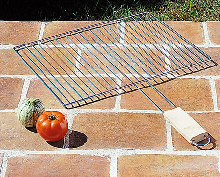 Grille BBq Inox simple 45x35 cm