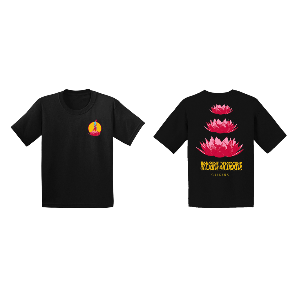 9b94a48a2a9 Home   Origins Lotus Youth T-Shirt + Deluxe Digital Album. Double tap to  zoom