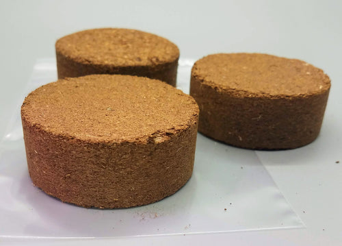 Organic Sustainable Coir Compressed Wafers