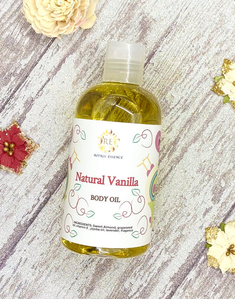 Natural Vanilla Body Oil