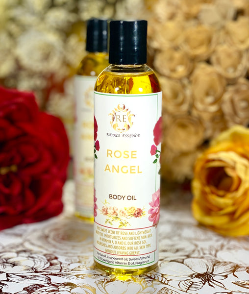 ROSE ANGEL BODY OIL