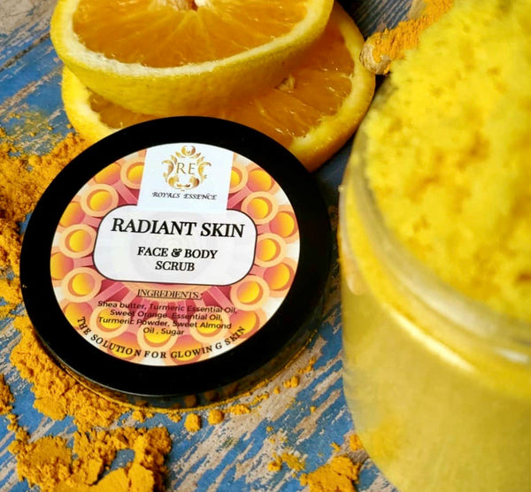 Radiant Skin Face & Body Scrub