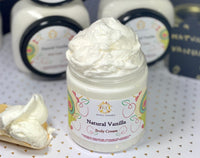 Natural Vanilla Body Cream