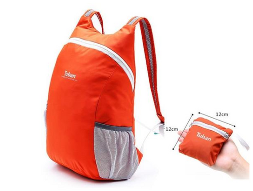 Lightweight Nylon Foldable Backpack With Waterproof Capabilities